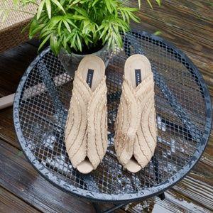 Unique style platform heels!